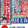 週刊文春小室圭破談へのカウントダウン